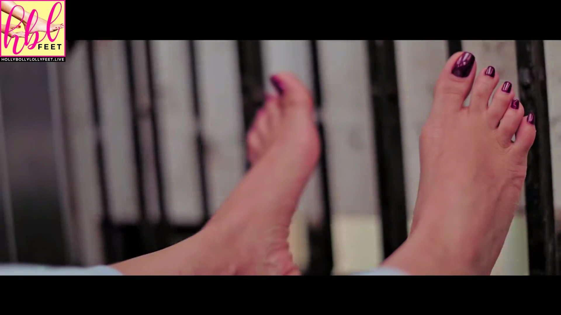Shama Sikander Feet Closeups