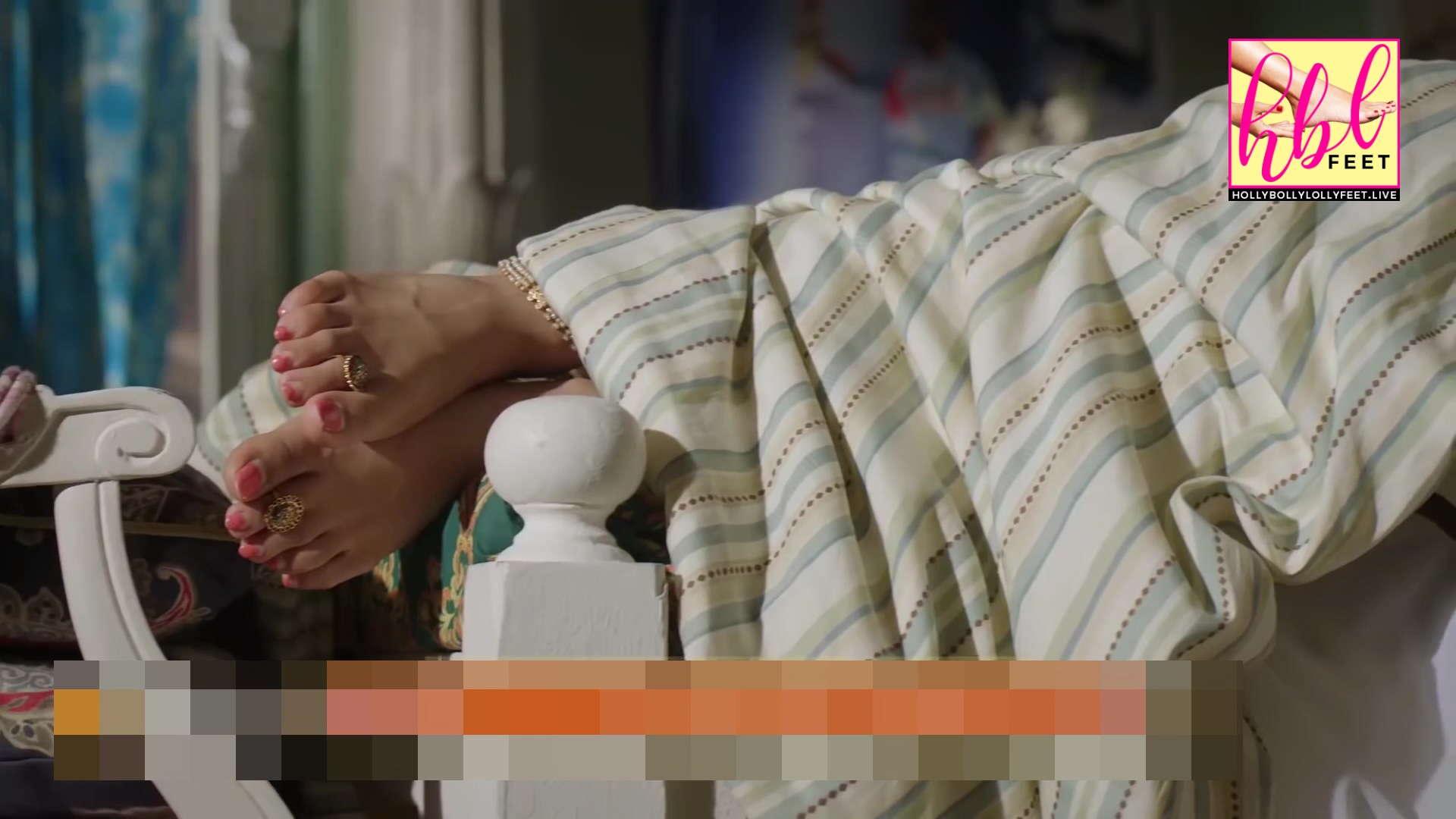 Tejaswi Prakash Wayangankar Feet Closeup